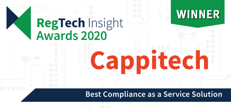 Best Compliance As A Service Solution At 2020 Regtech Insights Awards