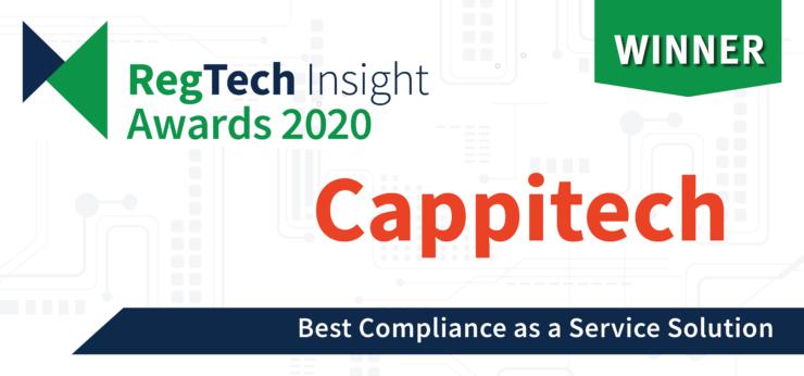 Best Compliance As A Service Solution At 2020 Regtech Insights Awards